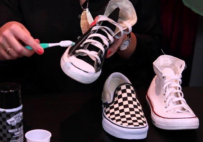 کفش هایمان را چگونه تمیز کنیم؟