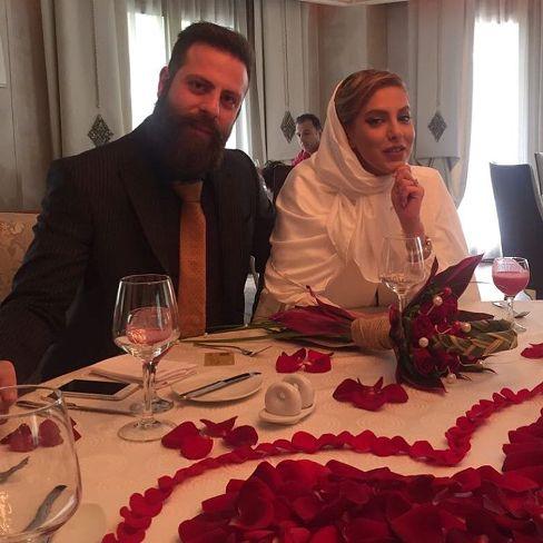 خانم بازیگر ایرانی ازدواج کرد + عکس