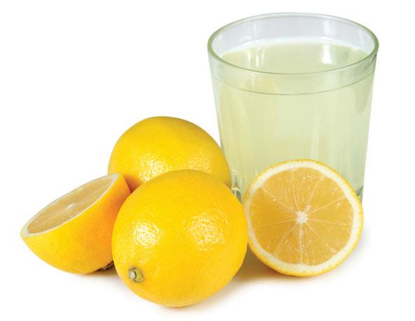 خاصیت شگفت انگیز آب لیمو