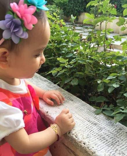 عکس یک سالگی لیانا دختر مهناز افشار + عکس