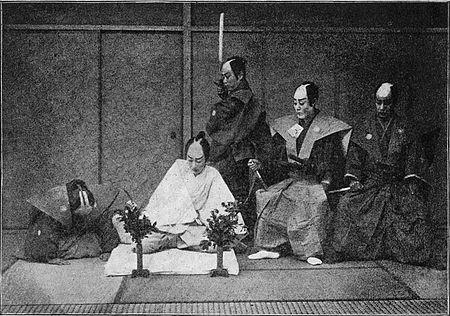روشهای خودکشی سامورایی ها + عکس