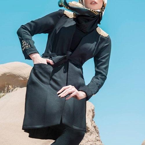 مدلهای جدید مانتو بهاره مجلسی دخترانه