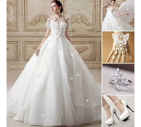 ست لباس عروس / ست لباس نامزدی