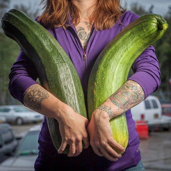 نمایشگاه مخصوص سبزیجات غول پیکر + تصاویر