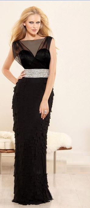 شیک ترین مدل لباس شب بلند برای خانمهای جوان
