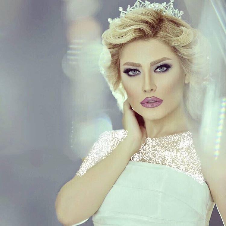 مدل آرایش عروس فوق العاده شیک