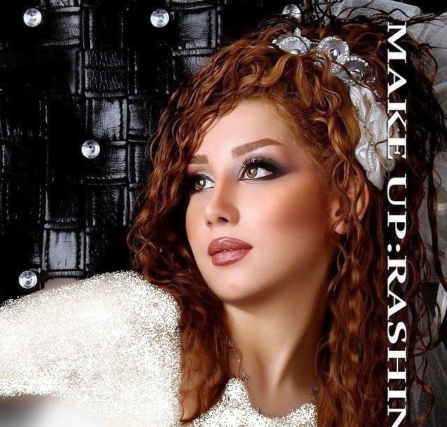 شیک ترین مدل آرایش عروس ۹۵