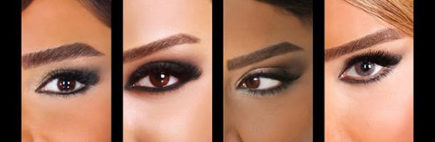 آموزش رنگ کردن ابرو بر اساس رنگ پوست و مو