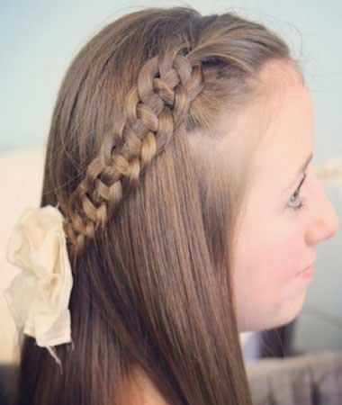 زیباترین مدل بافت مو دخترانه ۹۵