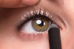 آموزش کشیدن خط چشم نامرئی + تصویر