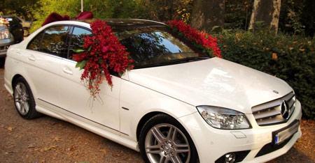 انواع مدل جدید ماشین عروس