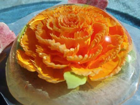 مدلهای تزیین ژله تزریقی گلدار