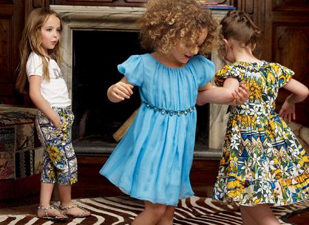 مدل جدید لباس بچه گانه D&G
