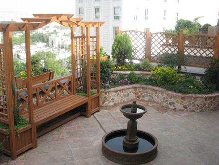 شیک ترین مدل آبنما برای حیاط و باغ