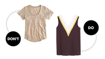 مدل لباس مناسب برای لاغرتر نشان دادن بازوها