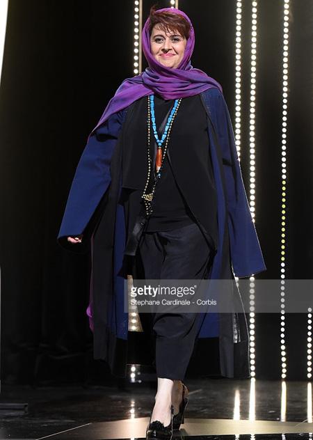 مدل لباس کتایون شهابی در جشنواره کن Canns 2016