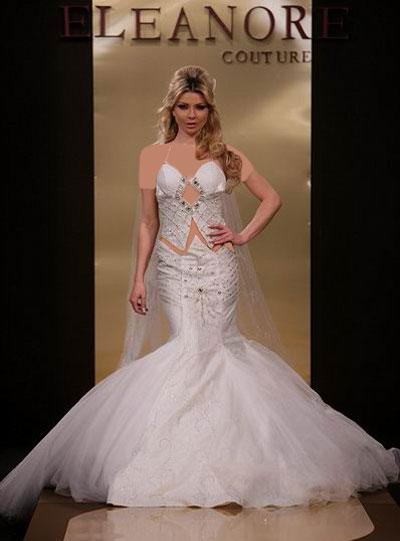 شیک ترین مدلهای لباس عروس عربی ۹۵