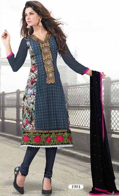 مدلهای زیبای لباس هندی مخصوص دختران