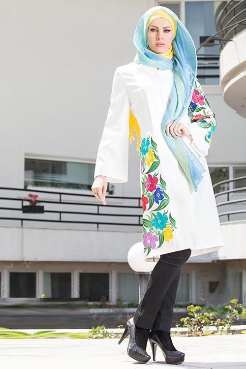 جدیدترین مدلهای مانتو مجلسی دخترانه