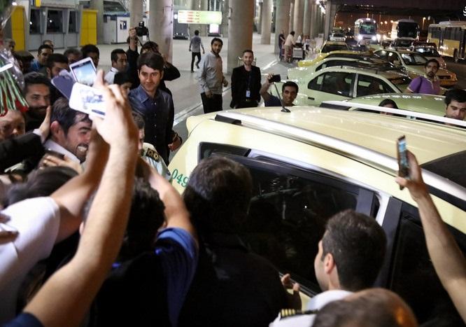 گزارش تصویری بازگشت ستارگان ایرانی جشنواره کن ۲۱۰۶