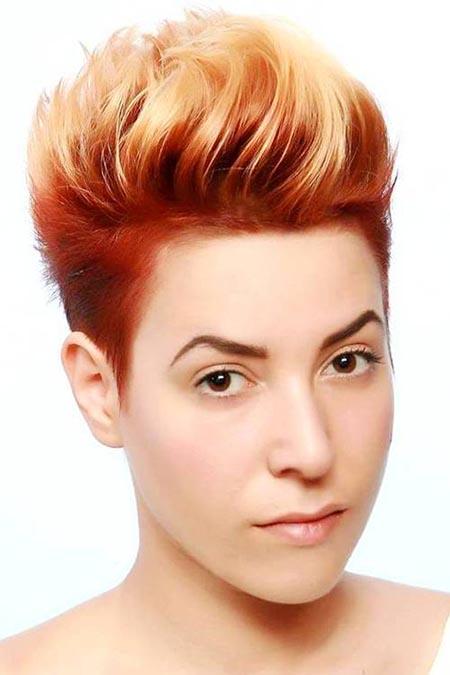 مدل مو کوتاه زنانه مخصوص تابستان