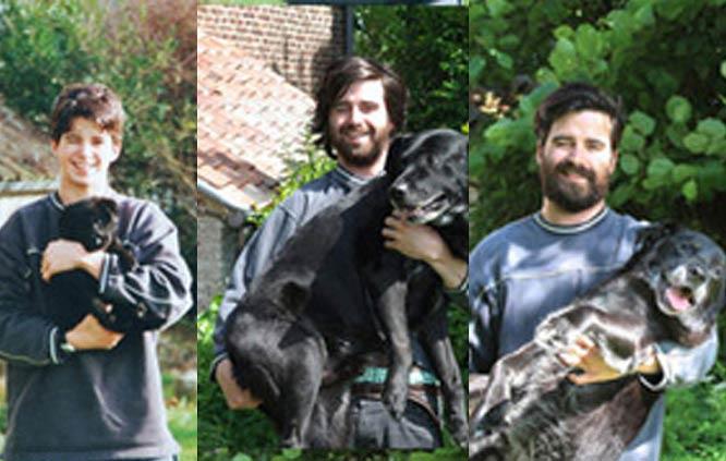 عکس های این پسر و سگش یک میلیون نفر را جذب کرد + عکس