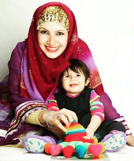 خاله شادونه و دخترش / عکس