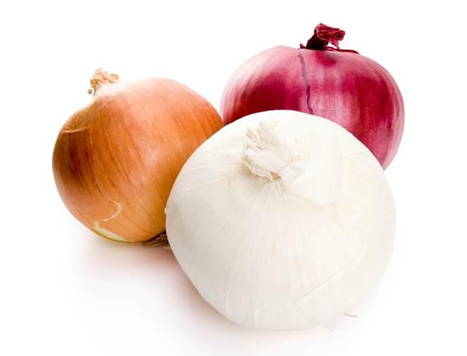 تفاوت پیاز سفید و قرمز