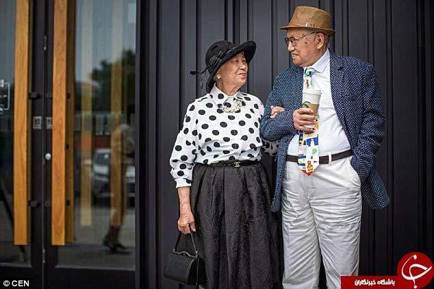 عاشق ترین زوج در جهان + تصاویر