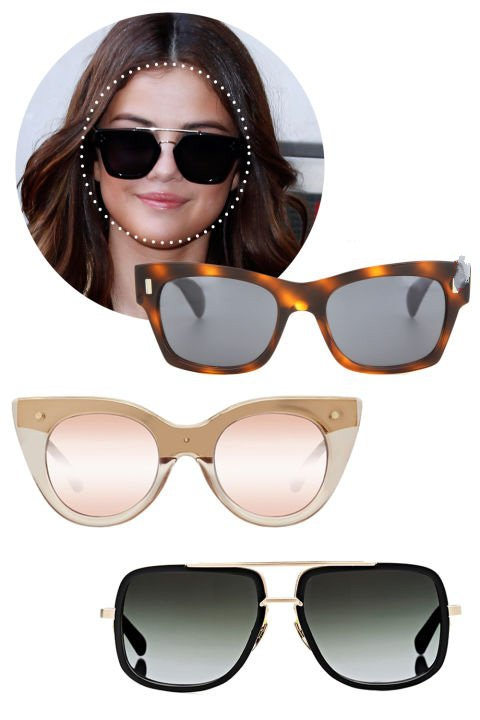 انتخاب مدل عینک آفتابی مطابق فرم صورت