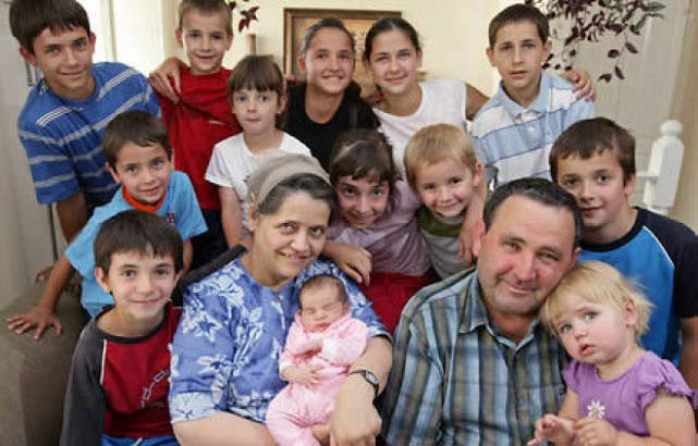 زنی که ۶۹ فرزند دارد! + عکس