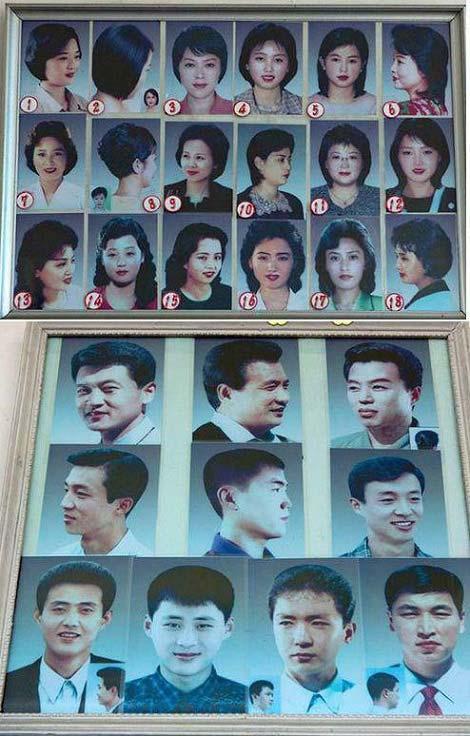 در این کشور زنان ۱۸ مدل و مردان ۱۰ مدل مو می توانند انتخاب کنند + عکس