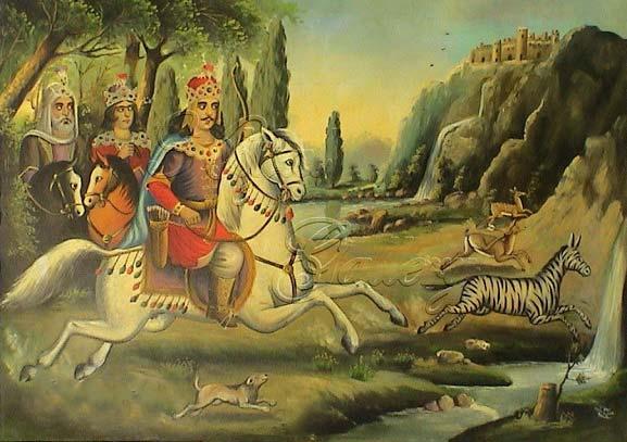 شاهنامه خوانی: داستان چهل و یکم، پادشاهی بهرام گور (قسمت اول)