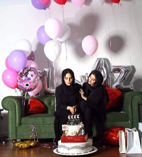 جشن تولد الناز شاکردوست + عکس