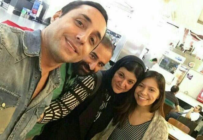 بازیگران مشهور ایرانی لحظاتی قبل از انفجار در فرودگاه ترکیه + عکس