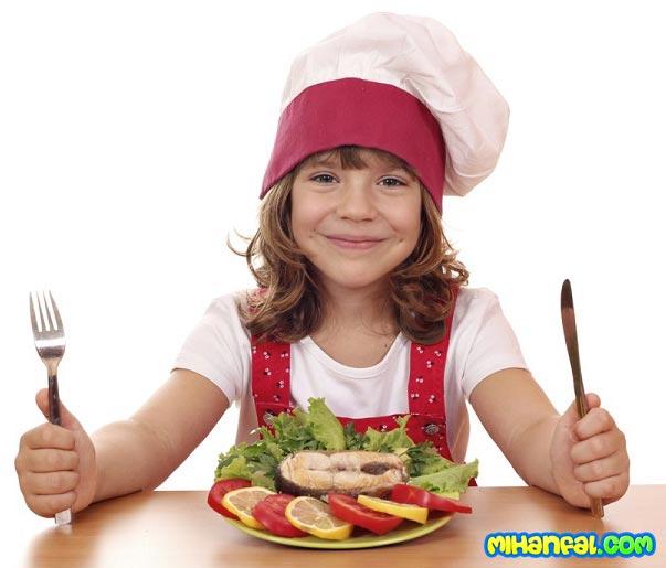 8 خاصیت بی نظیر ماهی برای کودکان