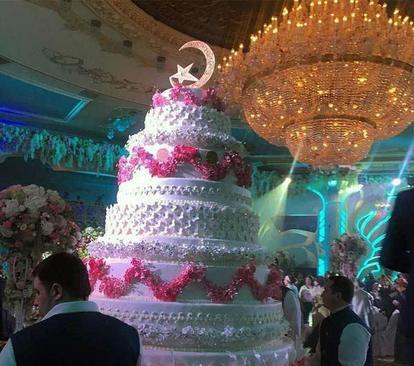 گران ترین عروسی جهان + تصاویر