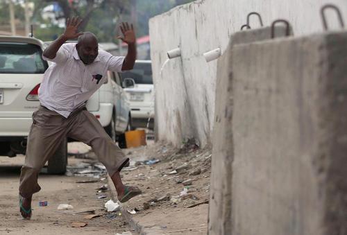 حمله تروریستی گروه الشباب به هتلی در موگادیشو سومالی