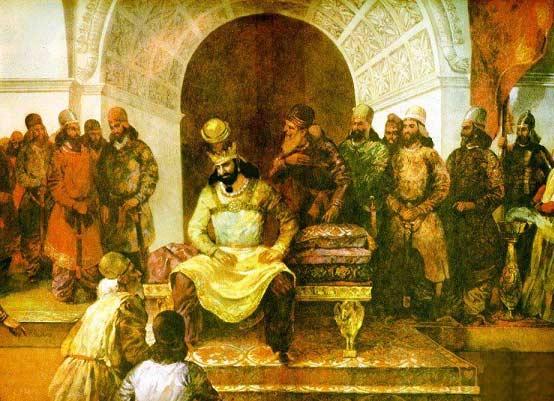 شاهنامه خوانی: داستان چهل و هفتم، نامه نوشیروان به پسر قیصر و پاسخ او