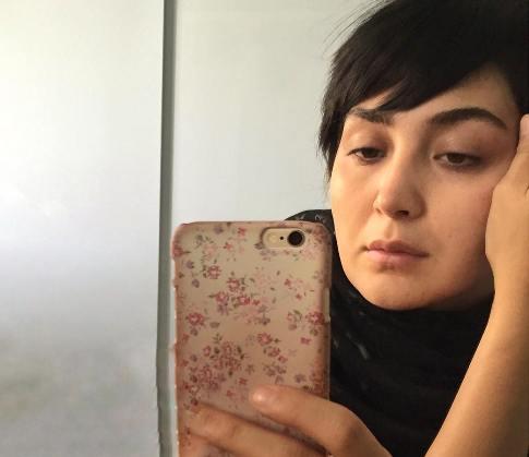 چهره بدون آرایش خانم بازیگر 30 ساله ایرانی + عکس