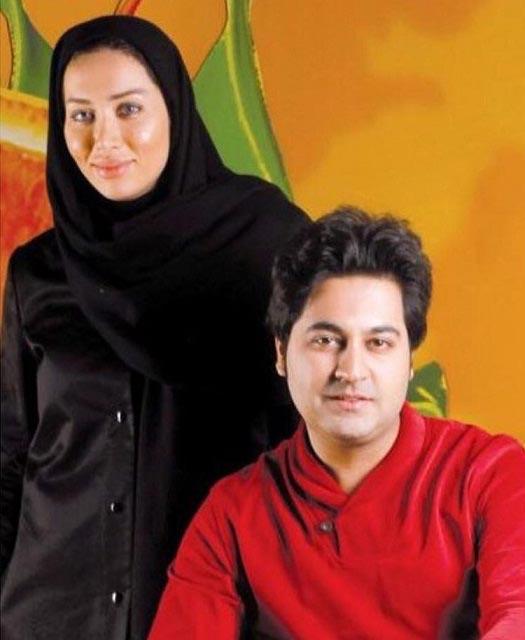 عکس بهنام صفوی و همسرش
