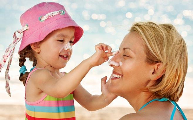 5 اشتباه هنگام استفاده از ضد آفتاب