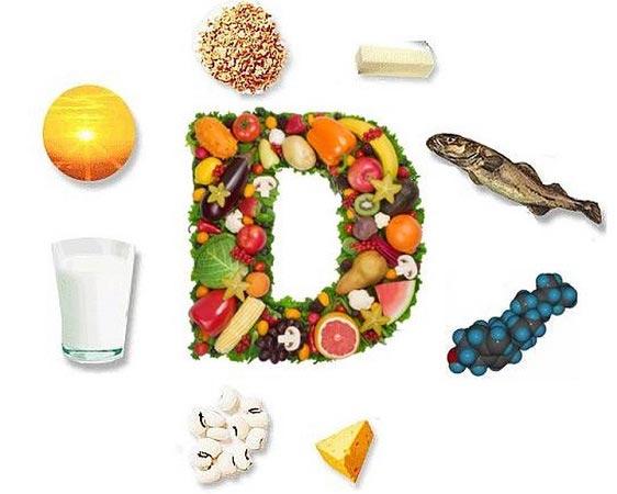 مواد غذایی دارای ویتامین D