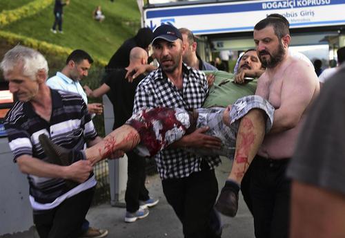 مقاومت مردمی در برابر کودتا در ترکیه – استانبول و آنکارا