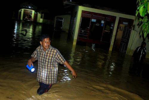 سیل در آچه اندونزی