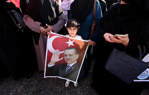 شادمانی مردم غزه از شکست کودتا در ترکیه