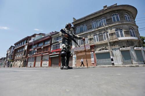 حکومت نظامی در کشمیر