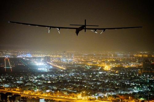 فرود هواپیمای خورشیدی