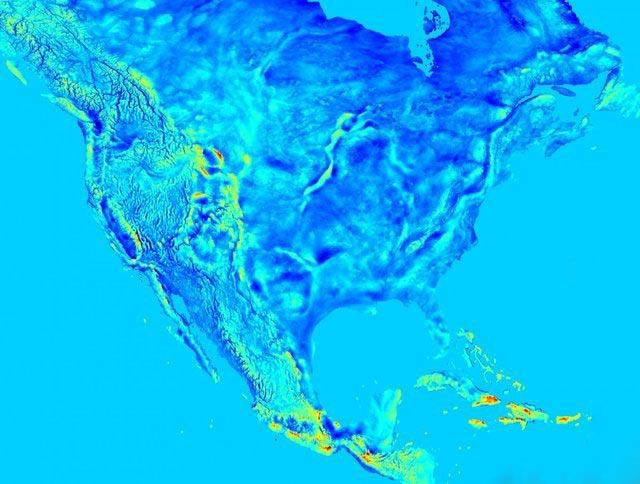 دیدن امواج جاذبه زمین با چشم مسلح + تصاویر