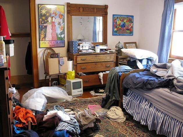 شلختگی خانه را چگونه از بین ببریم؟